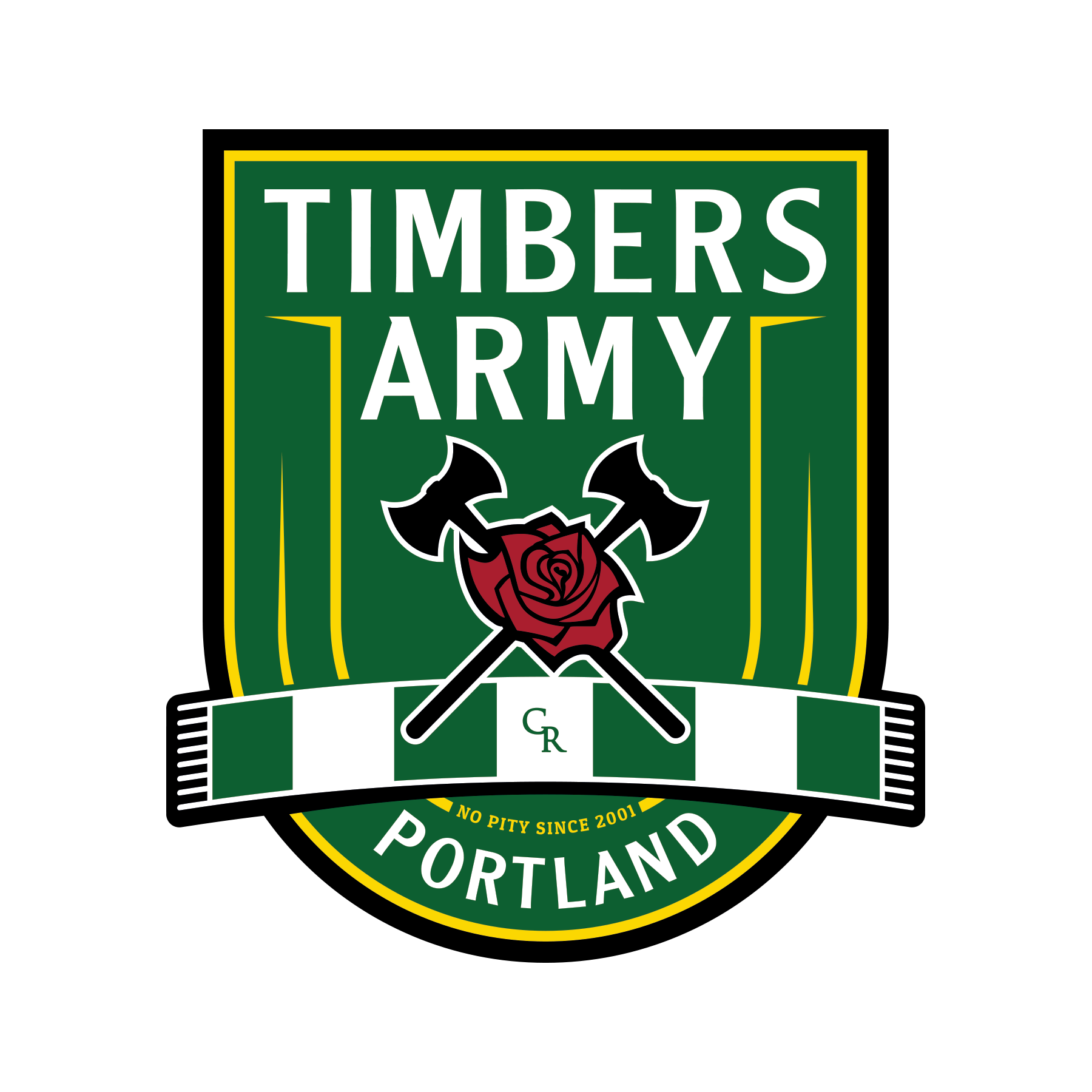 The Timbers Army Crest